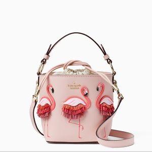 💯✅Authentic Flamingo Bucket Bag